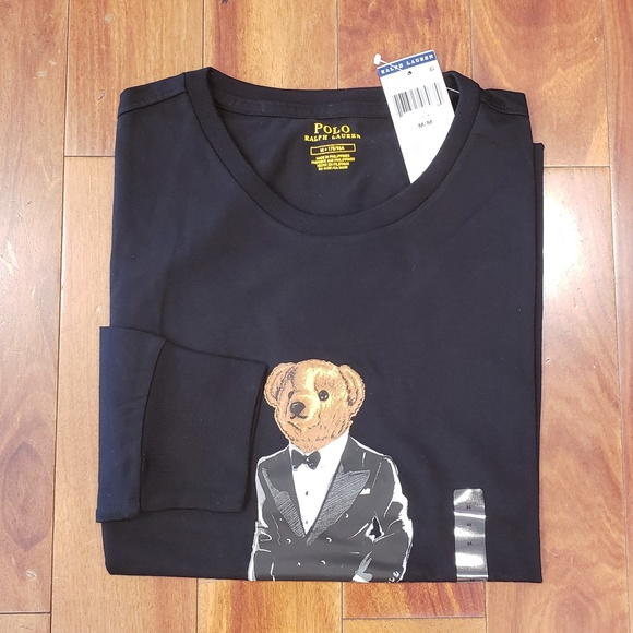 86c8b09af1 Polo Ralph Lauren Polo Bear Long Sleeve T-shirt